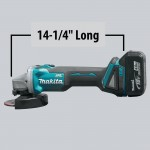 Makita XAG03Z Feature Box Image_Ergonomics