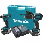 Makita XT218M Kit Shot