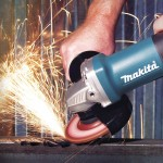 Makita 9557PB Action Shot 1