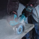 Makita GA5020Y Action Shot 2