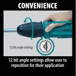 Makita HM1214C Feature Box with text_Convenience